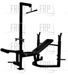 weider weight bench parts weider pro 340 webe34071 fitness and exercise