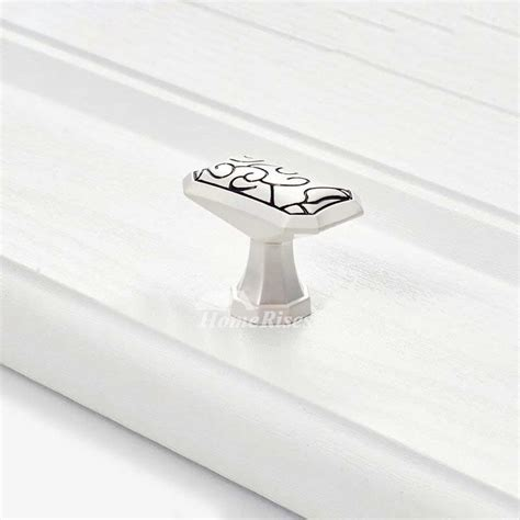 white cabinet knobs and pulls cabinet knobs and pulls white painting carved zinc alloy