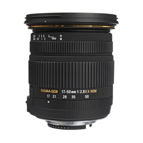Lensa Sigma 17 50 Mm F28 Ex Hsm jual sigma 17 50mm f 2 8 ex dc os hsm zoom lensa kamera