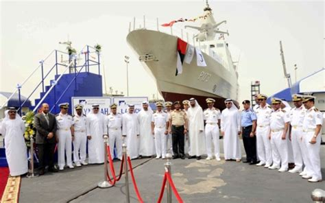 Instant Sport Runner Navy Abu third baynunah corvette for uae navy launched emirates 24 7