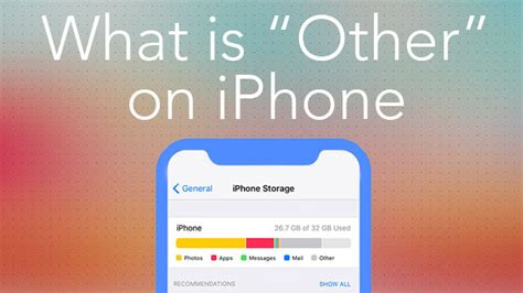 on iphone storage what is other what is quot other quot on iphone nektony