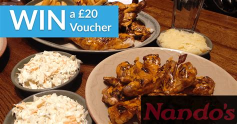 Nando S Gift Card - free competition for 163 20 nandos gift card winneroo