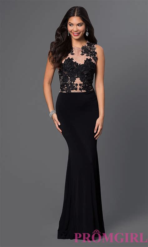 evening dresses sleeveless evening gown lace prom dress