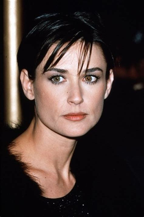 demi moore hair cuts back in the 1990s demi moore was the icon for