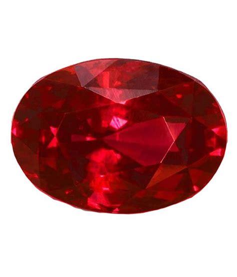 Ruby 5 95 Carat gem testing lab 5 95 carat ruby manik buy gem testing lab
