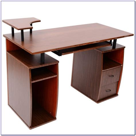computer desk with hutch and printer shelf computer desk with hutch and printer shelf desk home