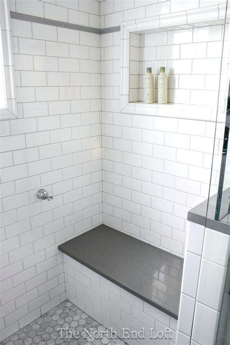 white subway tile shower image of white subway tile shower
