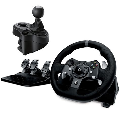 pc volante logitech g920 driving racing wheel volant pc