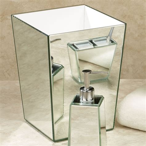 mirror bathroom accessories crystal mirror bath accessories