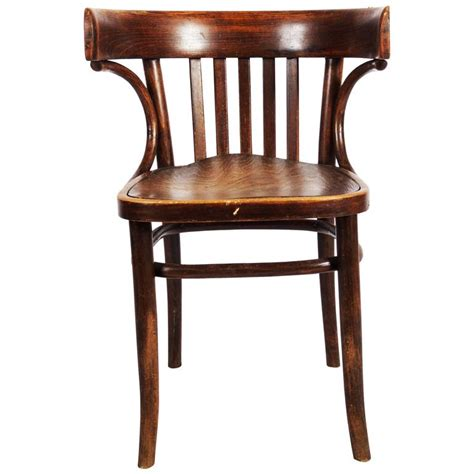 Cafe Armchair by Classical Thonet Bistro Or Cafe Armchair 1920s For Sale