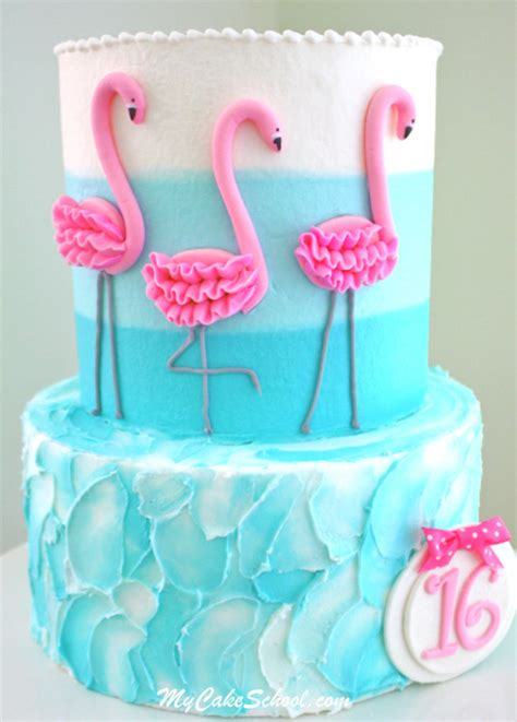 Tri Level Home Decorating by Flamingo Cake A Video Tutorial My Cake