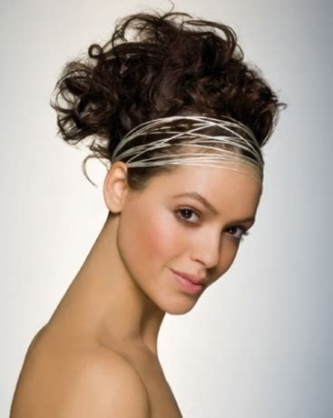 hair styles pulled up on head modern prom hairstyle with stylish headband with hair