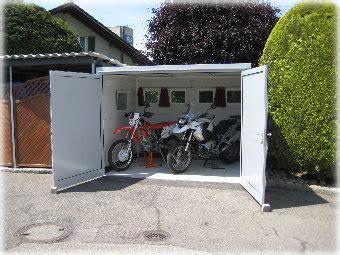 Motorrad Garage Hannover by Gartenhaus Motorradgarage My