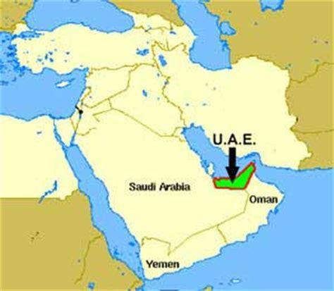 middle east map abu dhabi ok info de uae