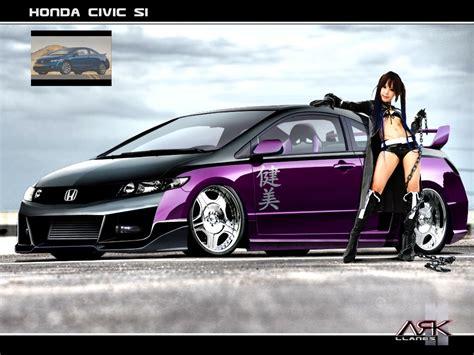 honda civic 2009 tuning tuning design by ark llanes honda civic coupe si 2009