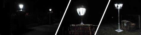 solar post ls pillar lights blackfrog solar