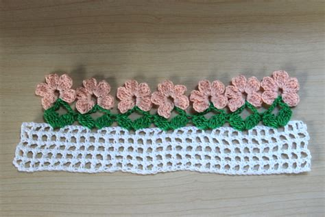 flower pattern edge mores than 20 crochet borders and edgings to crochet with