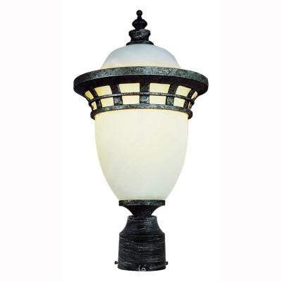 Bel Air Lighting 3 Light Outdoor Post Bel Air Lighting Imperial 1 Light Outdoor Antique Pewter Post Top Lantern With Frosted Glass