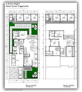 contoh gambar denah rumah minimalis model baru modif rumah bagus