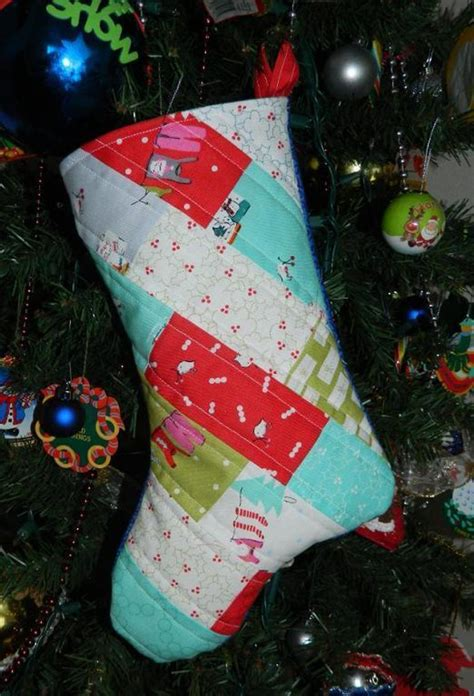 download pattern for christmas stocking free sewing pattern charming christmas stocking tutorial