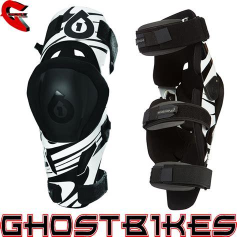 sixsixone motocross sixsixone 661 mx3 aluminium motocross mx enduro knee brace