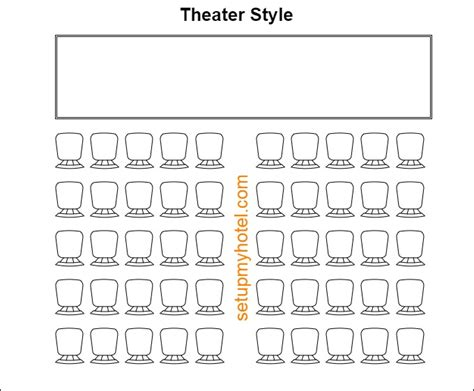 theatre style banquet seating 9 types of banquet room setup event room setup styles