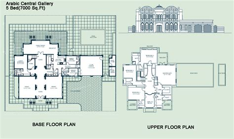 Signature Villa Floorplans Dubai Properties Dubai House Floor Plans Dubai