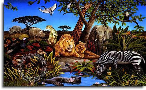Full Wall Murals jungle mural bz9103m wall mural themuralstore com