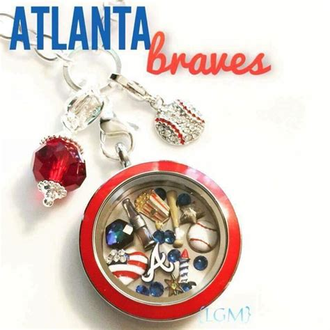 Origami Owl Official Website - go braves show your team spirit with this origami owl