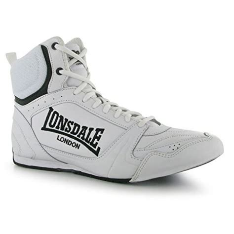 sport boots c lonsdale mens boxing boots training lace up sport shoes