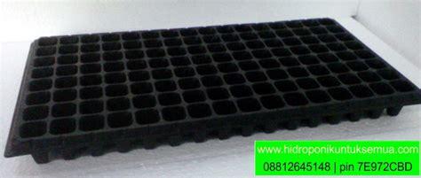 Jual Pupuk Hidroponik Bengkulu tray semai 128 lubang tanam jual alat bahan media hidroponik
