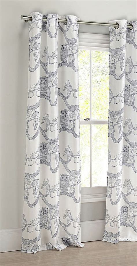 owl curtains for nursery owl nursery curtains contemporary nursery curtains in