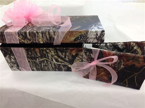 Mossy Oak Gift Card - camo gift card box camouflage prom wedding homecoming formals