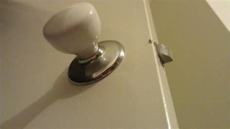 Changing A Bedroom Door Lock Changing A Bedroom Doorknob Doityourself Community