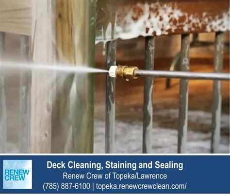 images  deck cleaning topeka ks  pinterest