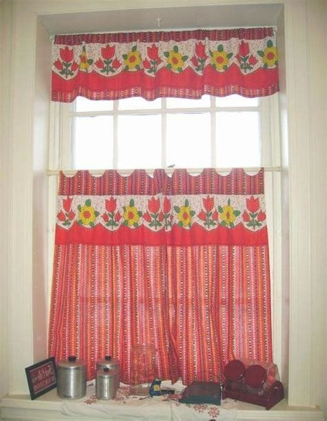 kitchen curtain patterns photos
