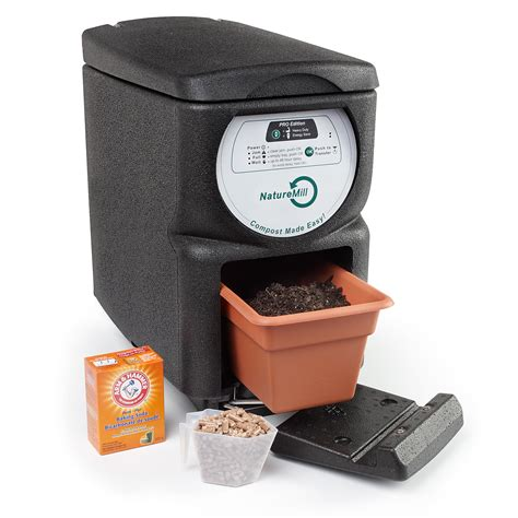 under sink compost automatic composter naturemill electric indoor