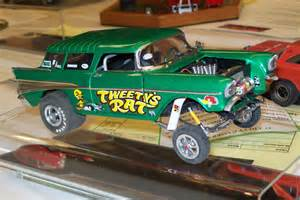 57 chevy gasser model cars
