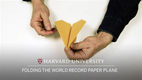 Collins Paper Airplane Folding - collins the paper airplane demonstrates how to