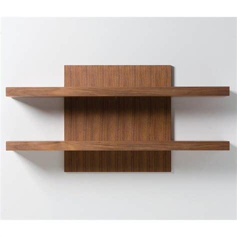 Walnut Shelf by Mobital Cargo Wall Shelf In Walnut Wwu Carg Waln Shelf