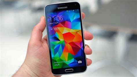 samsung galaxy s5 app and modes