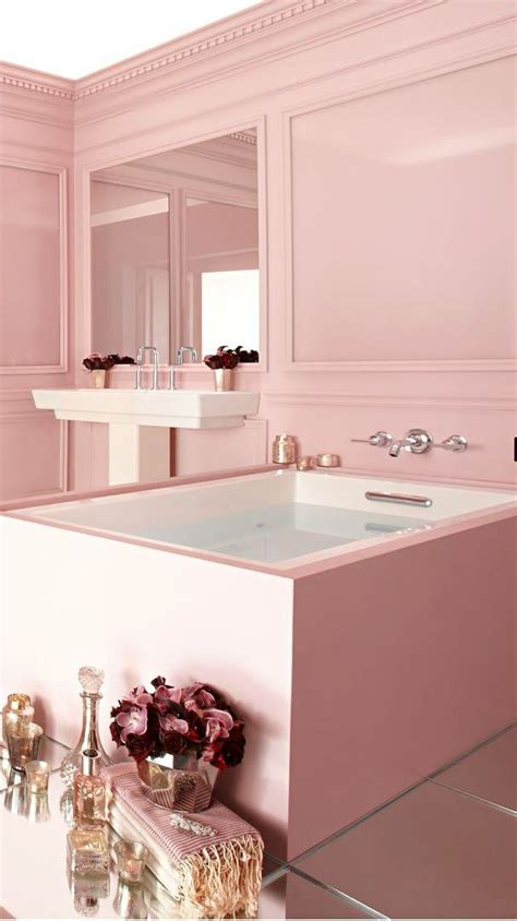 pink bathroom ornaments bathroom charming pink bathroom interior decor pink