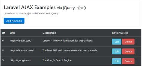 tutorial laravel ajax laravel ajax crud tutorial web development tutorials