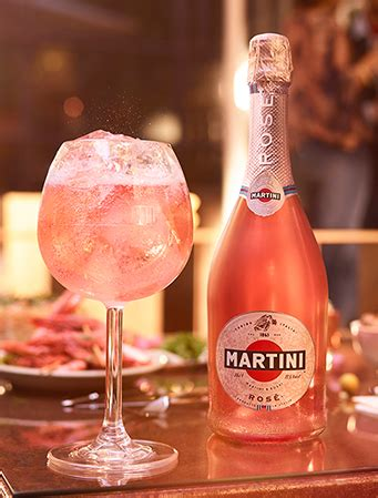 martini and rossi rose martini global products