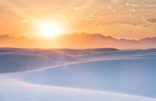 new wallpaper wallpaper sunrise white sands new mexico 4k 8k nature