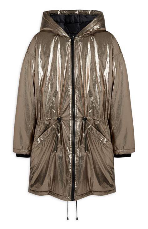 Primarks Metallic Coat by Primark Coats The Look Edit Look