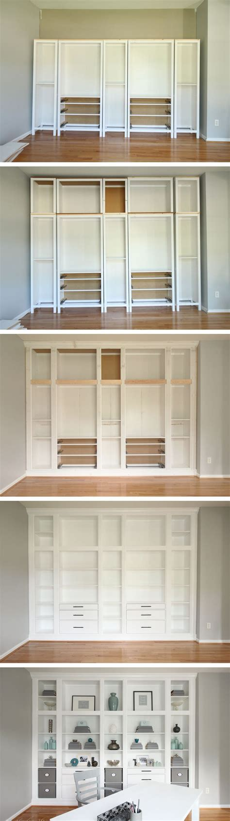 built in bookcases ikea top 25 ideas about built in bookcase on built