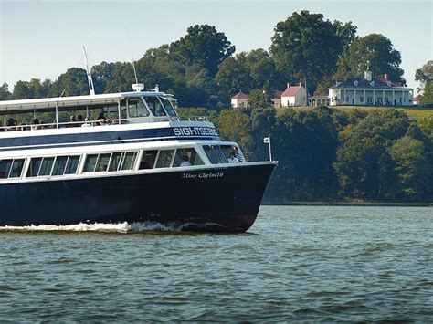 potomac river boat tours washington dc sightseeing tours potomac riverboat company
