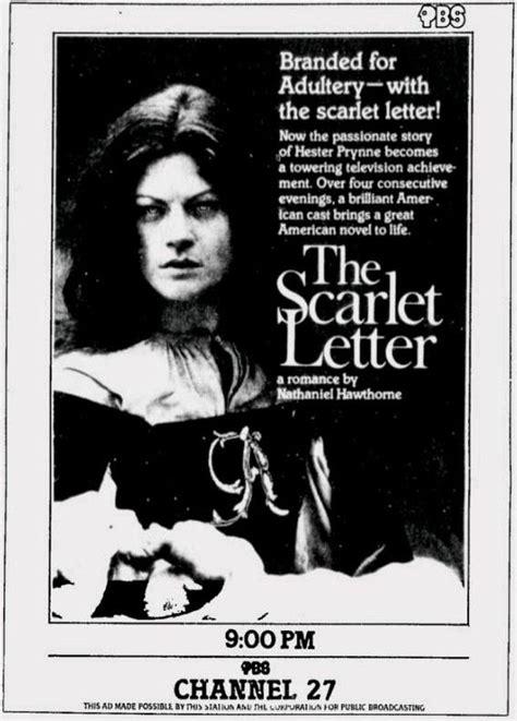 The Scarlet Letter 1979 the scarlet letter 1979 with meg foster as hester prynne