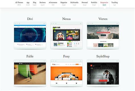 elegant themes mobile responsive plantillas wordpress mega gu 237 a para elegir la mejor